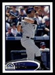2012 Topps #257  Seth Smith  Front Thumbnail