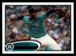 2012 Topps #225  Michael Pineda  Front Thumbnail
