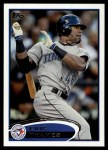 2012 Topps #293  Eric Thames  Front Thumbnail
