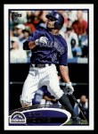 2012 Topps #242  Eric Young  Front Thumbnail