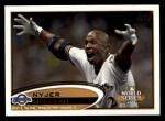 2012 Topps #272   -  Nyjer Morgan  Highlights Front Thumbnail