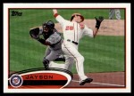 2012 Topps #295  Jayson Werth  Front Thumbnail