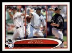 2012 Topps #212   -  Tim Wakefield / C.C. Sabathia / Mark Buehrle Active AL Wins Leaders Front Thumbnail