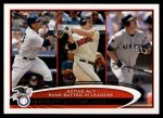 2012 Topps #324   -  Alex Rodriguez / Jim Thome / Jason Giambi Active AL RBI Leaders Front Thumbnail
