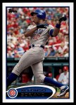 2012 Topps #348  Alfonso Soriano  Front Thumbnail