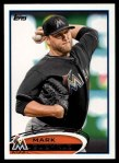 2012 Topps #355  Mark Buehrle  Front Thumbnail