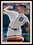 2012 Topps #358  Jacob Turner  Front Thumbnail
