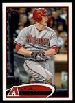 2012 Topps #370  Lyle Overbay  Front Thumbnail