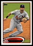 2012 Topps #372  Daniel Descalso  Front Thumbnail