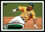 2012 Topps #374  Coco Crisp  Front Thumbnail