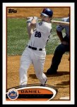 2012 Topps #380  Daniel Murphy  Front Thumbnail