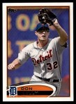 2012 Topps #412  Don Kelly  Front Thumbnail