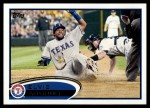 2012 Topps #439  Elvis Andrus  Front Thumbnail