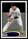 2012 Topps #454  Michael Cuddyer  Front Thumbnail