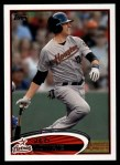 2012 Topps #455  Jed Lowrie  Front Thumbnail