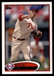 2012 Topps #458  Kyle Kendrick  Front Thumbnail