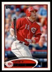 2012 Topps #498  Joey Votto  Front Thumbnail