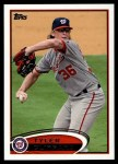 2012 Topps #503  Tyler Clippard  Front Thumbnail