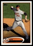 2012 Topps #523  Jim Johnson  Front Thumbnail