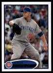 2012 Topps #525  Paul Maholm  Front Thumbnail