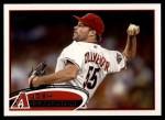 2012 Topps #544  Josh Collmenter  Front Thumbnail