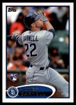 2012 Topps #553  James Darnell  Front Thumbnail