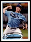 2012 Topps #573  Kyle Farnsworth  Front Thumbnail