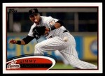2012 Topps #585  Jimmy Paredes  Front Thumbnail