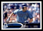 2012 Topps #642  Mike Moustakas  Front Thumbnail