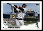 2013 Topps #12  A.J. Pierzynski   Front Thumbnail