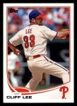 2013 Topps #33  Cliff Lee   Front Thumbnail
