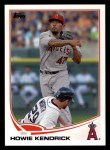 2013 Topps #47  Howie Kendrick   Front Thumbnail