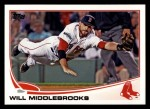 2013 Topps #64  Will Middlebrooks   Front Thumbnail