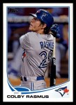2013 Topps #68  Colby Rasmus   Front Thumbnail
