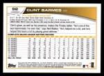 2013 Topps #92  Clint Barmes   Back Thumbnail