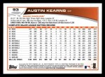 2013 Topps #93  Austin Kearns   Back Thumbnail
