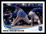 2013 Topps #100  Mike Moustakas   Front Thumbnail