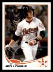 2013 Topps #104  Jed Lowrie   Front Thumbnail
