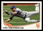 2013 Topps #109  Kirk Nieuwenhuis   Front Thumbnail