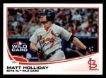 2013 Topps #125  Matt Holliday   Front Thumbnail