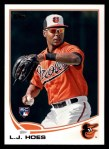 2013 Topps #148  L.J. Hoes   Front Thumbnail