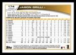 2013 Topps #174  Jason Grilli   Back Thumbnail