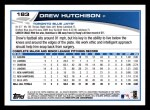 2013 Topps #183  Drew Hutchison   Back Thumbnail