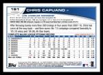 2013 Topps #191  Chris Capuano   Back Thumbnail
