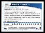 2013 Topps #199  Avisail Garcia   Back Thumbnail