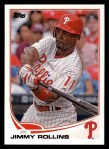 2013 Topps #206  Jimmy Rollins   Front Thumbnail