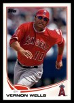 2013 Topps #210  Vernon Wells   Front Thumbnail