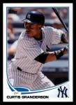 2013 Topps #214  Curtis Granderson   Front Thumbnail