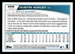 2013 Topps #252  Dustin Ackley   Back Thumbnail