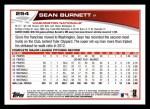 2013 Topps #254  Sean Burnett   Back Thumbnail